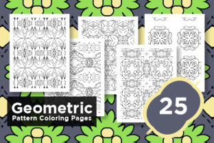 Print on Demand: Kdp Pattern - Adult Coloring Page Bundle Graphic Coloring Pages & Books Adults By Riduwan Molla