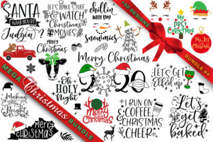 Print on Demand: Mega Christmas Bundle #4 Graphic Crafts By freelingdesignhouse