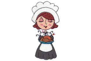 Pilgrim Toodle Thanksgiving Embroidery Design By Sew Terific Designs