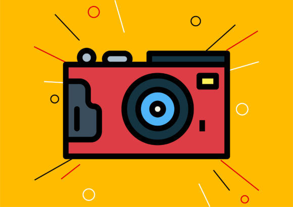 Camera Graphic Illustrations By Cintakucluk123