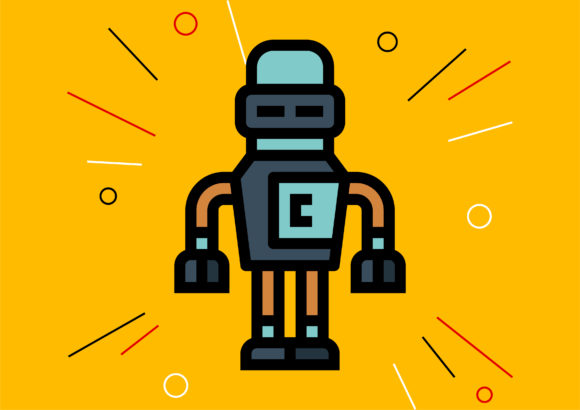 Robot Graphic Illustrations By Cintakucluk123