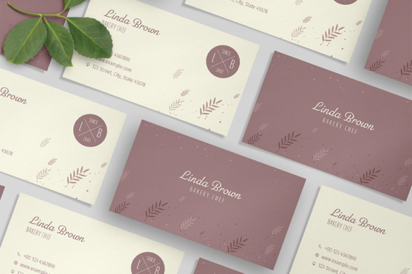 Bakery Business Card Creative Template Graphic Print Templates By bourjart_20