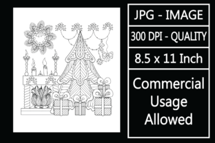 Print on Demand: Christmas Adult Coloring Page 44 Special Graphic KDP Interiors By design-world