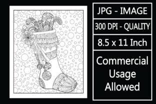 Print on Demand: Christmas Adult Coloring Page 65 Special Graphic KDP Interiors By design-world