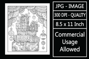 Print on Demand: Christmas Adult Coloring Page 67 Special Graphic KDP Interiors By design-world