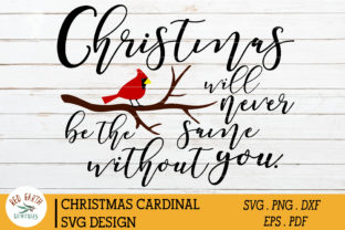 Christmas Cardinal Quote Graphic Crafts By redearth and gumtrees