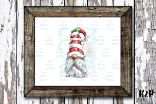 Print on Demand: Christmas Gnome Sublimation Graphic Illustrations By KtwoP