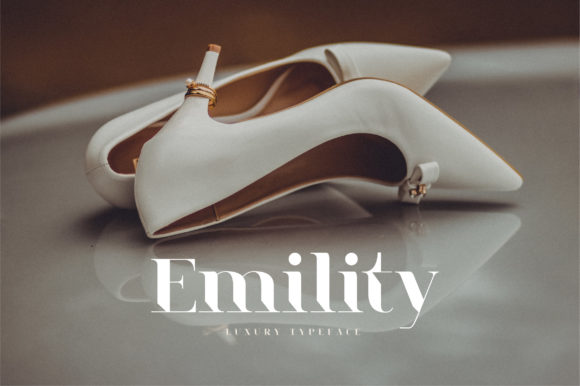 Print on Demand: Emility Serif Font By geengraphy