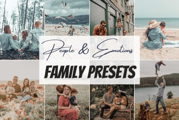 Family Mobile Lightroom Preset Graphic Actions & Presets By SvgOcean