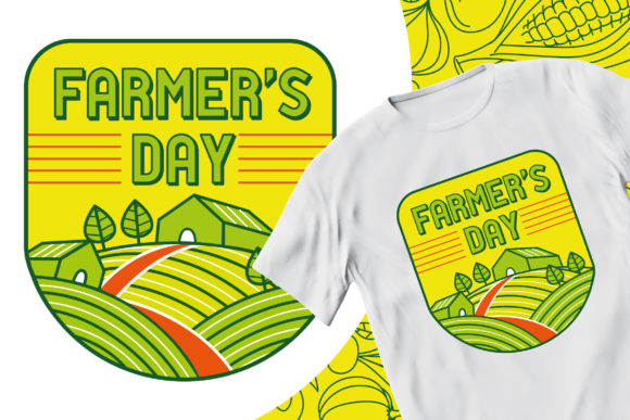 Farmer's Day #1 Graphic Illustrations By medzcreative