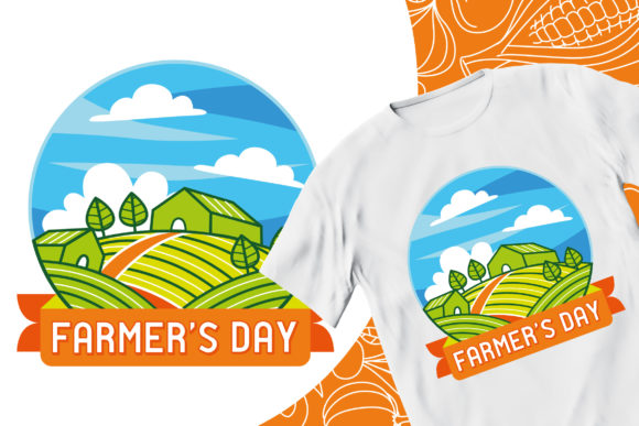 Farmer's Day #2 Graphic Illustrations By medzcreative