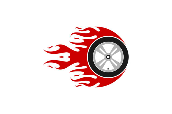 Fire Logo Graphic Logos By skyacegraphic0220