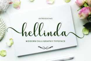 Print on Demand: Hellinda Script & Handwritten Font By Cut Story