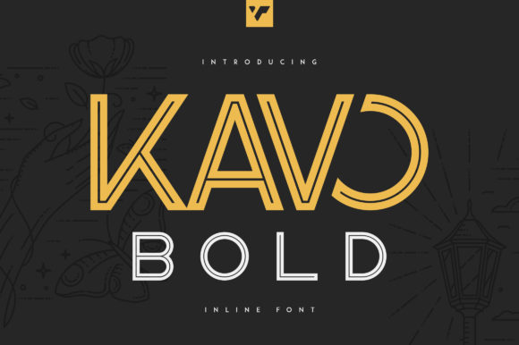 Print on Demand: Kavo Bold Sans Serif Font By vladfedotovv