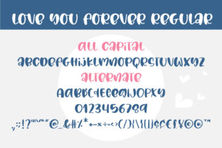 Print on Demand: Love You Forever Script & Handwritten Font By BitongType 2