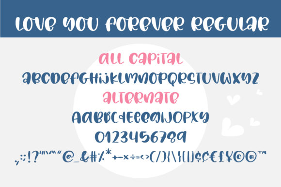 Love You Forever Font Download