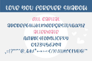 Print on Demand: Love You Forever Script & Handwritten Font By BitongType 3