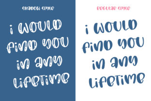 Print on Demand: Love You Forever Script & Handwritten Font By BitongType 6