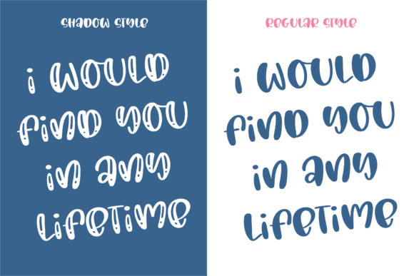 Love You Forever Font Image