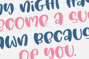 Print on Demand: Love You Forever Script & Handwritten Font By BitongType 8