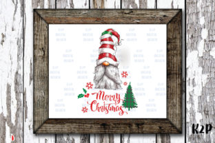Print on Demand: Merry Christmas Sublimation Gnome Graphic Illustrations By KtwoP