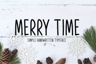 Print on Demand: Merry Time Script & Handwritten Font By Seemly Fonts