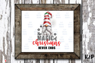 Print on Demand: The Magic of Christmas Never Ends Gnome Graphic Illustrations By KtwoP