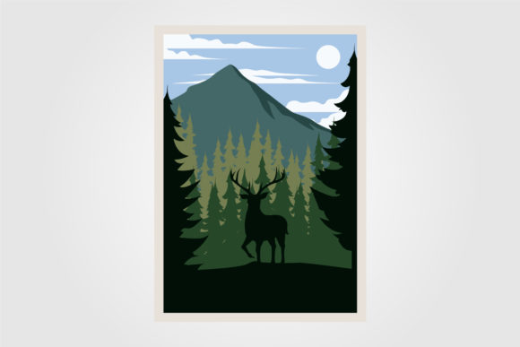 National Park Wanderlust Vintage Poster Graphic Graphic Templates By lawoel