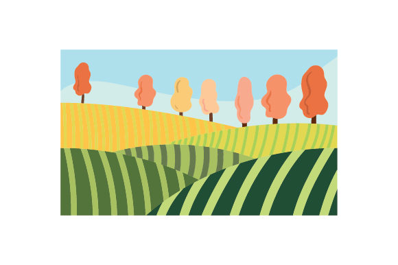 Vineyard Nature & Outdoors Craft Cut File By Creative Fabrica Crafts