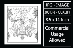Print on Demand: Adult Coloring Page 102 - Christmas Graphic KDP Interiors By design-world