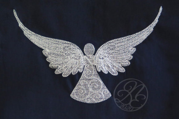 Angel Embroidery Download