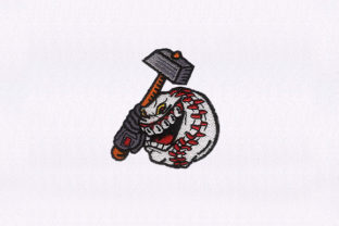 Armed Ball Design Hobbies & Sports Embroidery Design By DigitEMB