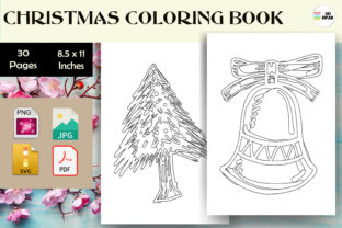 Print on Demand: Christmas Coloring Page Kids - KDP Graphic Coloring Pages & Books Kids By Sei Ripan