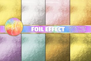 Colored Foil Digital Paper Graphic Backgrounds By paperart.bymc