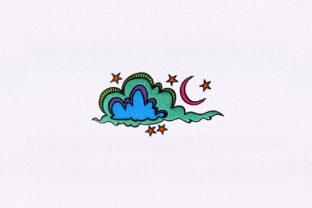 Drifting Clouds Fairy Tales Embroidery Design By DigitEMB