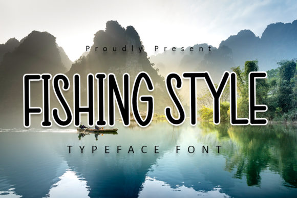 Print on Demand: Fishing Style Sans Serif Font By Inermedia STUDIO