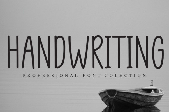Print on Demand: Handwriting Script & Handwritten Font By flowerletter