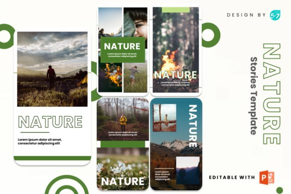 Instagram Story - Nature Graphic Presentation Templates By 57creative