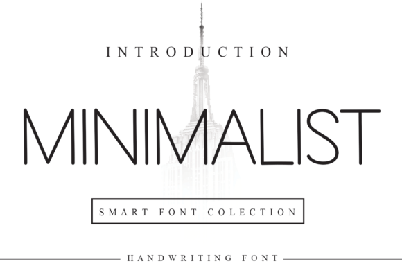 Print on Demand: Minimalist Sans Serif Font By LetterW26a