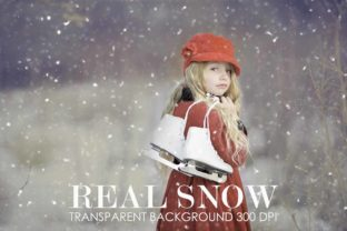 Print on Demand: Snow Overlay, Snow Overlay for Photoshop Graphic Actions & Presets By The Rose Mind
