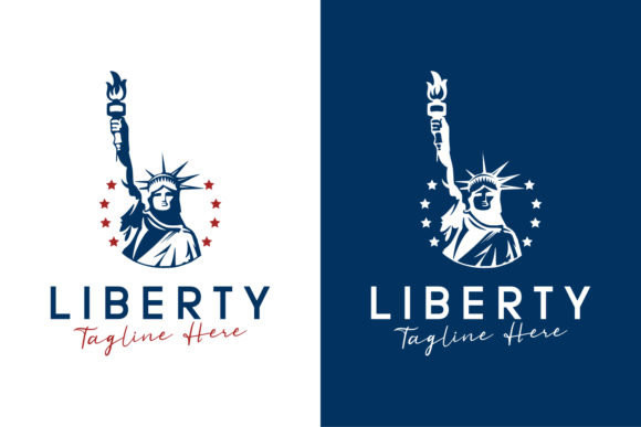 The Statue of Liberty Logo Design Graphic Logos By byemalkan