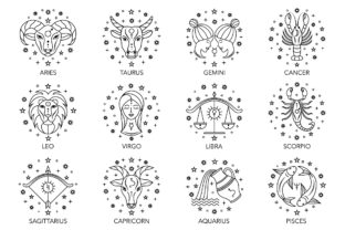 Zodiac Signs Graphic Illustrations By fatamorganaoptic