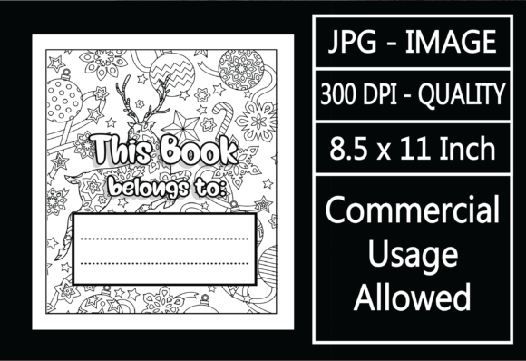 Print on Demand: Adult Coloring Page - Belongs to Cover 4 Graphic KDP Interiors By design-world