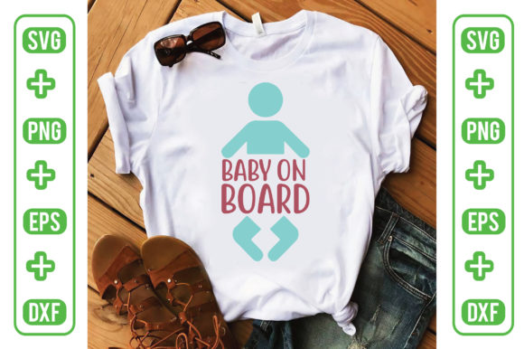 Baby on Board Graphic Crafts By Printable Store
