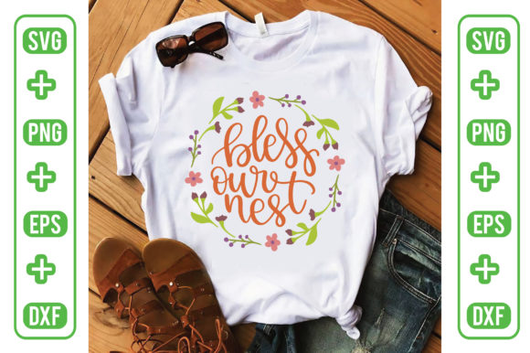 Bless Our Nest Graphic Crafts By Printable Store