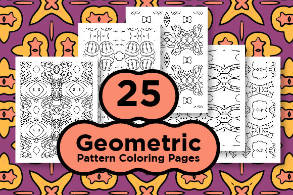 Print on Demand: Bundle - Geometric Pattern Graphic Coloring Pages & Books Adults By Riduwan Molla