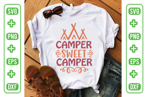 Camper Sweet Camper Graphic Crafts By Printable Store