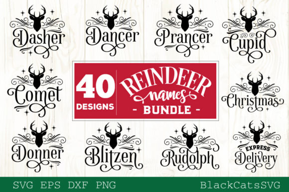 Christmas Mega Bundle SVG Bundle 210 Des Graphic Preview