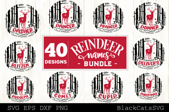 Christmas Mega Bundle SVG Bundle 210 Des Graphic Image