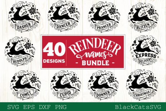 Christmas Mega Bundle SVG Bundle 210 Des Graphic Popular Design